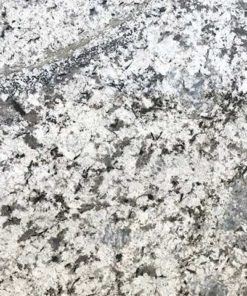 Blue Flower Granite countertop slab color sample