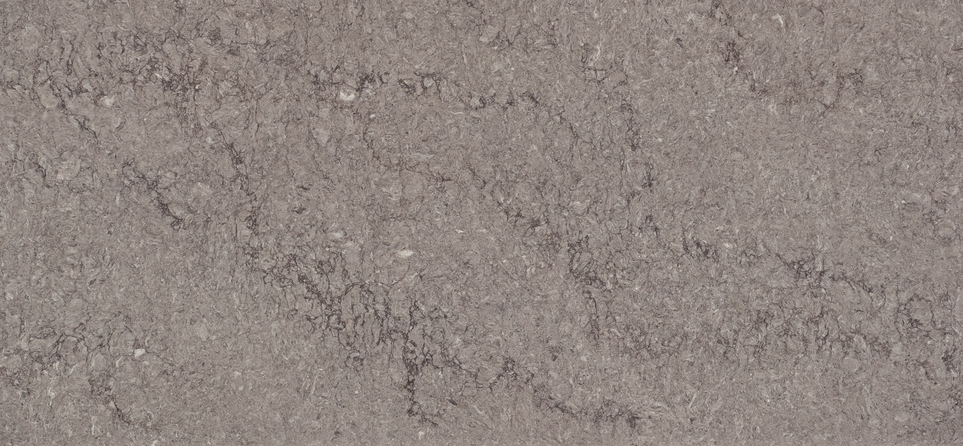 Turbine Grey Quartz countertop slab color sample