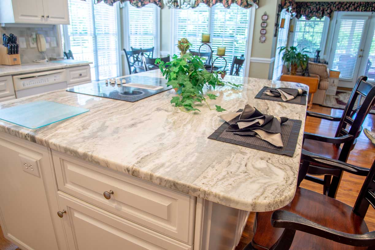 Fantasy Brown Marble kitchen island countertop