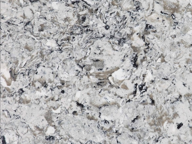 Pearlato Quartz countertop slab color sample
