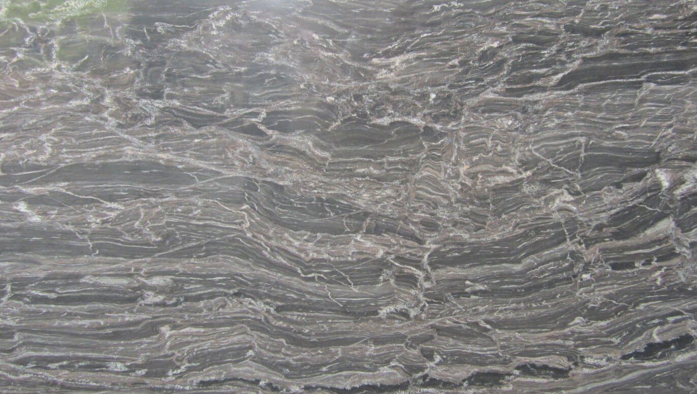 Silver Waves Granite Slab Countertop Slab Color Sample