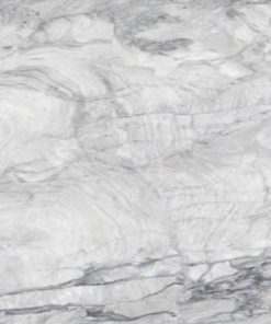 Super White Marble countertop slab color sample