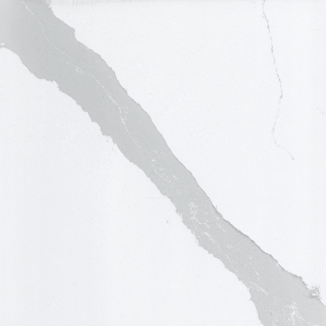 Bianco Calacatta Quartz countertop slab color sample