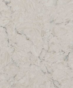 Carrara Mist Quartz countertop slab color sample
