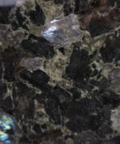Volga Blue Granite Slab Countertop Slab Color Sample